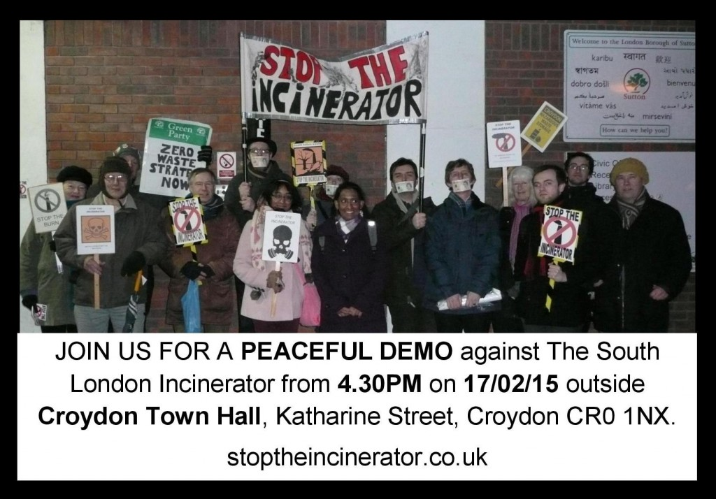 demo 17th feb 2015 croydon venue